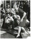 Article 6 - ITCH - Debbie Reynolds in a custom TRAVILLA ensemble