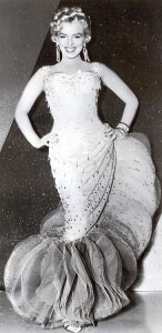 Marilyn Monroe SHOWBUSINESS GOWN