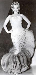 Marilyn Monroe SHOWBUSINESS GOWN