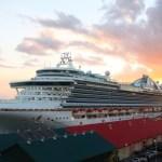 A cruise ship docks in Port of Spain, Trinidad. Photo: Edison Boodoosingh