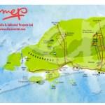Chaguaramas Northwest Trinidad map. Copyright MEP Publishers 2009