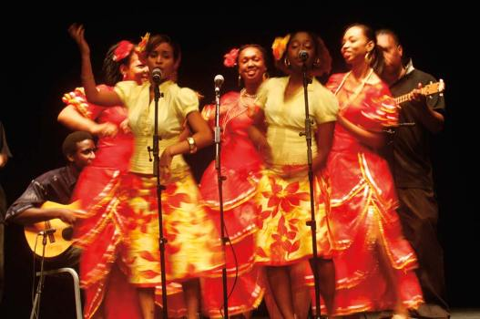 A parang group performs in Trinidad. Photo: Edison Boodoosingh