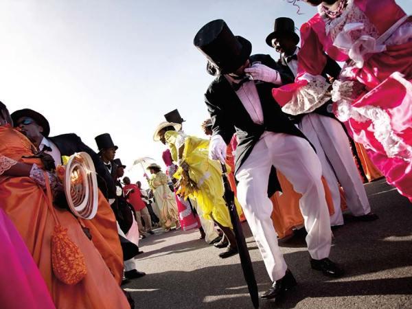 The Moriah Ole Time Wedding at Tobago Heritage Festival. Photo: CaféMoka Gallery