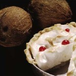 Coconut cream pie. Photographer: Mark Lyndersay