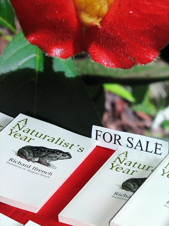 Books on sale at the Asa Wright Nature Centre high in the Northern Range. Photographer: Caroline Taylor