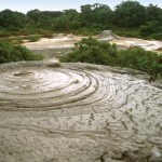 The mud volcano at Moruga Bouffe in south Trinidad. Photographer: Mark Meredith