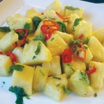Trinidad & Tobago pineapple chow. Photo: caribbeanpot.com