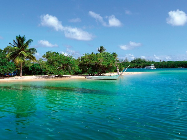 Bon Accord Lagoon. Courtesy The Division of Tourism and Transportation