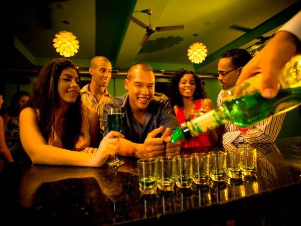 "Drinks on ""De Avenue"". Photo courtesy the Tourism Development Company"