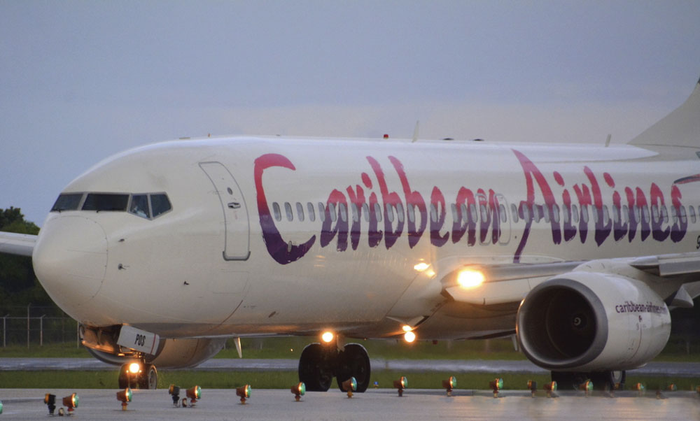Photo by Derek Felix, courtesy Caribbean Airlines
