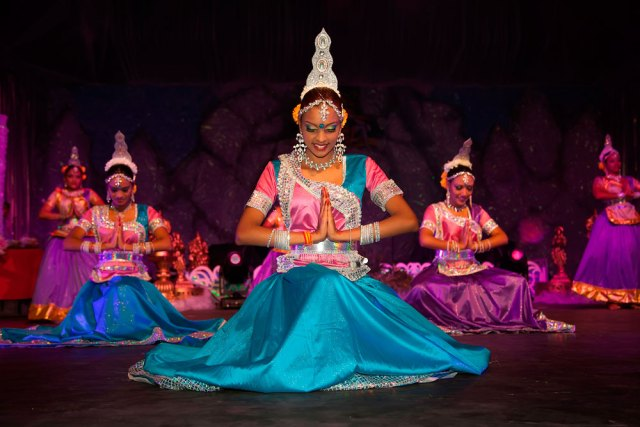 Indian classical dance. Photo by Chris Anderson
