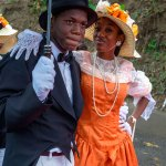 The Moriah Ole Time Wedding is a staple at the Tobago Heritage Festival. Photo by Chris Anderson