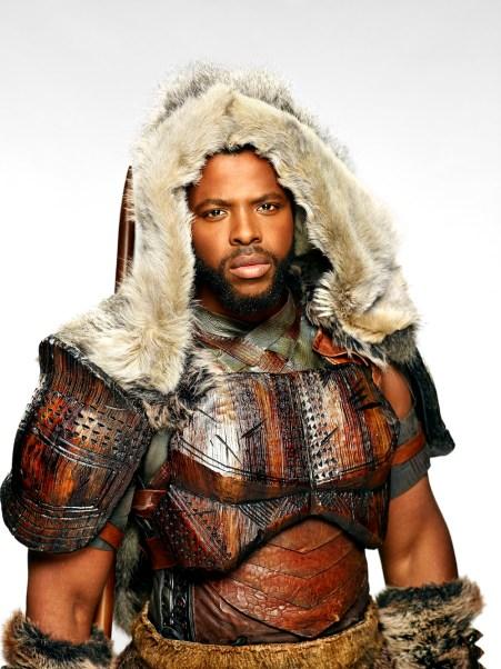 "Winston Duke as M'Baku in Marvel's ""Black Panther"". Courtesy Walt Disney Studios Motion Pictures"