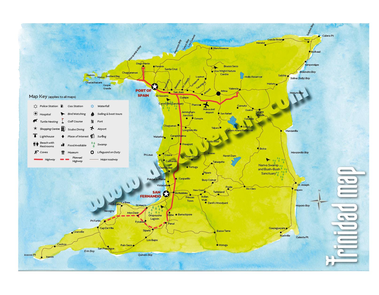 Picture of: Trinidad Maps Discover Trinidad Tobago