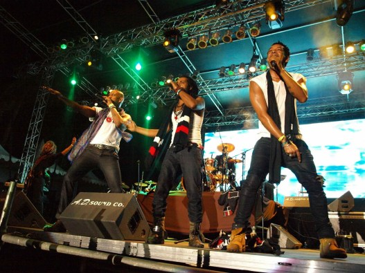 3canal performs at the Tobago Jazz Experience. Photo courtesy the THA