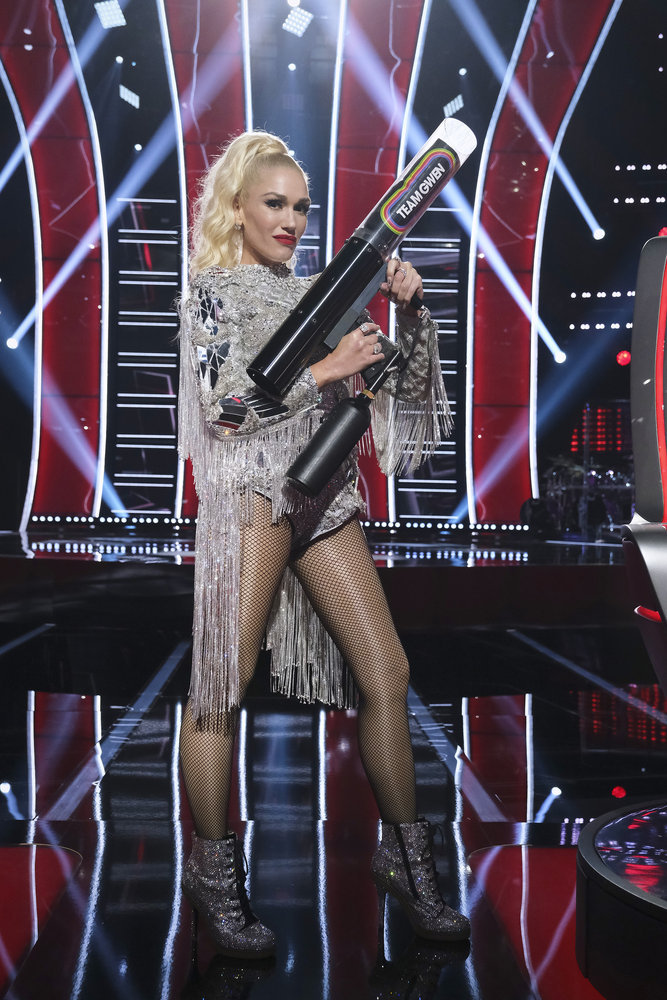 At the blind auditions, Payge Turner chose Gwen Stefani for her coach. Photo by: Trae Patton/NBC