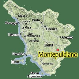Visit MontepulcianoGuide of Montepulciano in Valdorcia Tuscany