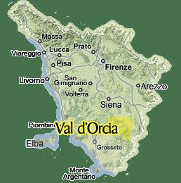 Valdorcia Tuscany