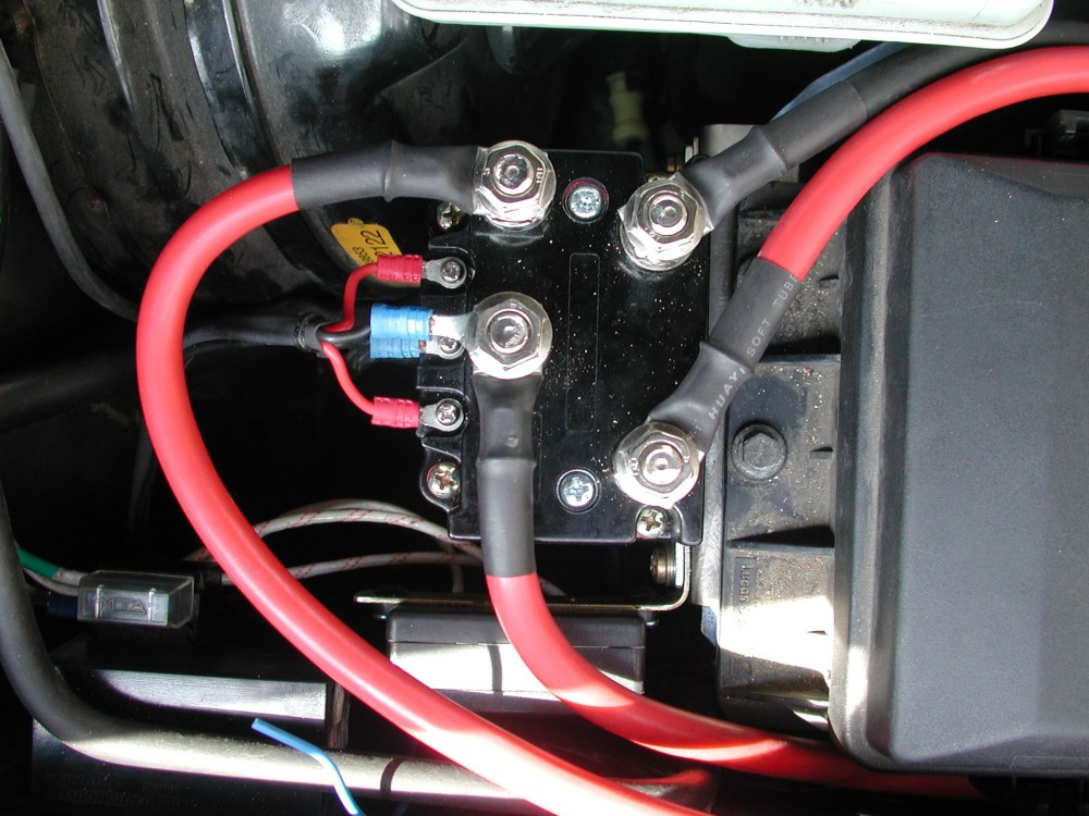 medium resolution of  solenoid wiring www discovery2 co uk t max winch t max 9500 winch wiring diagram at cita