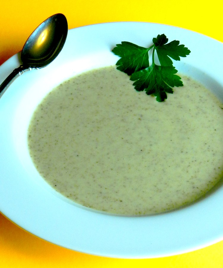 Toasted Almond Soup