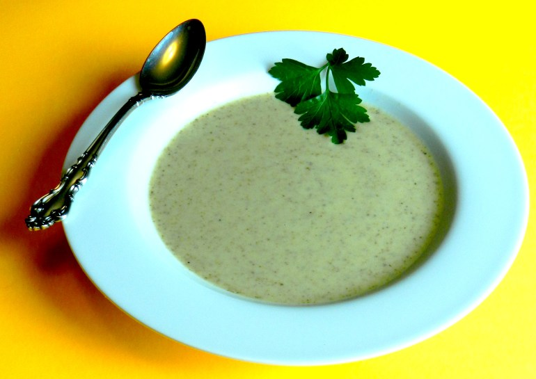 Honeyed Toasted Almond Soup