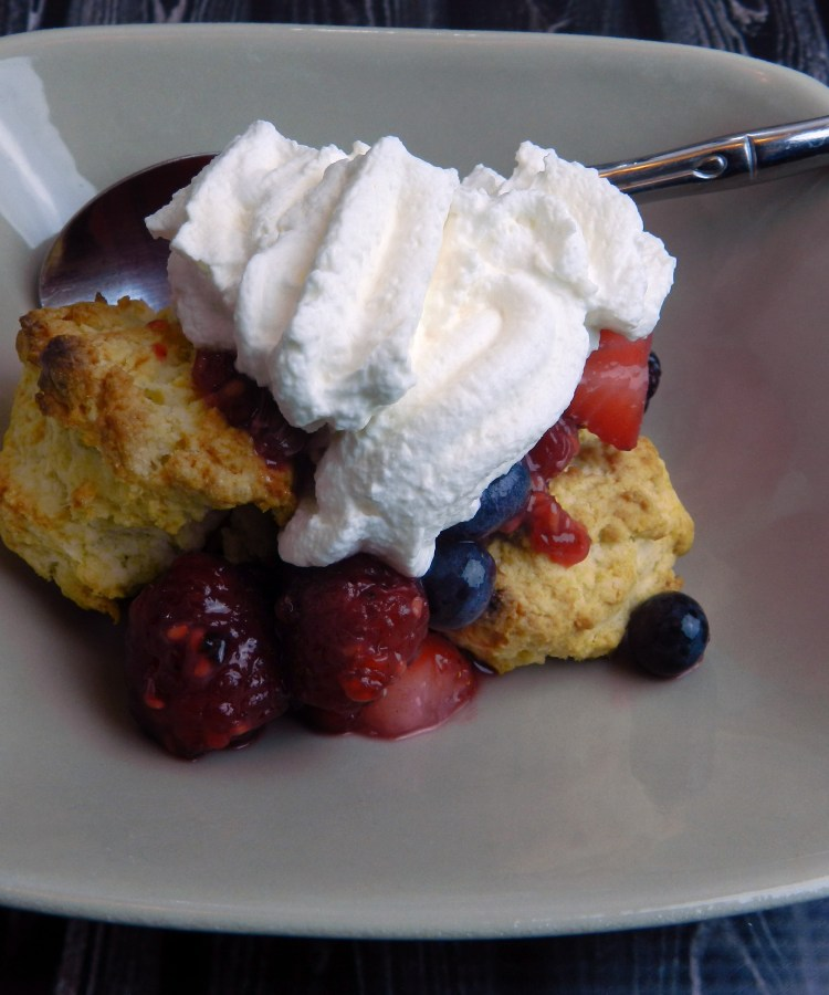 simple shortcake