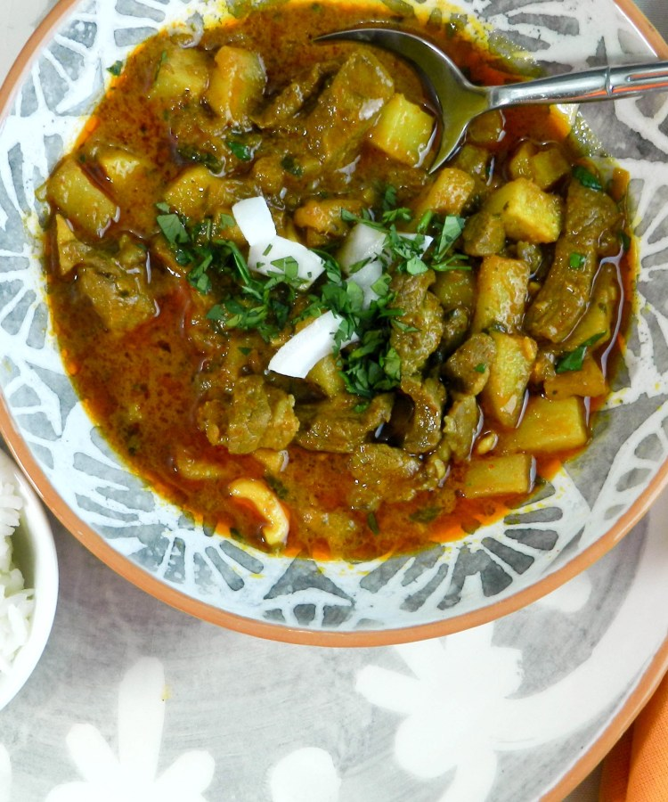 Thai Massaman Curry with Lamb
