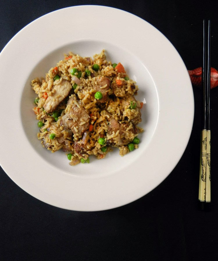 Char Siu Fried Rice