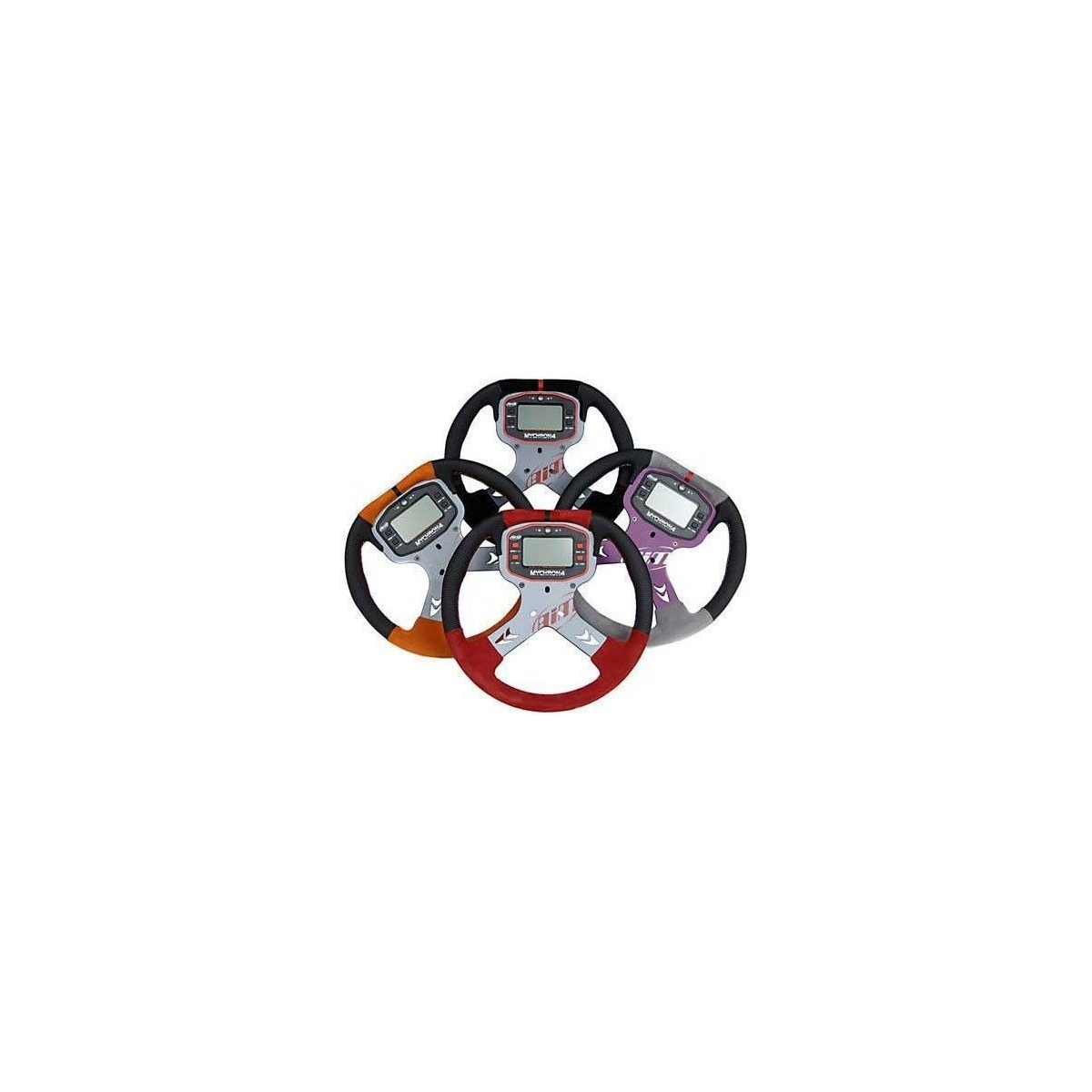 AiM Mychron 4 Sprint Kart Steering Wheel