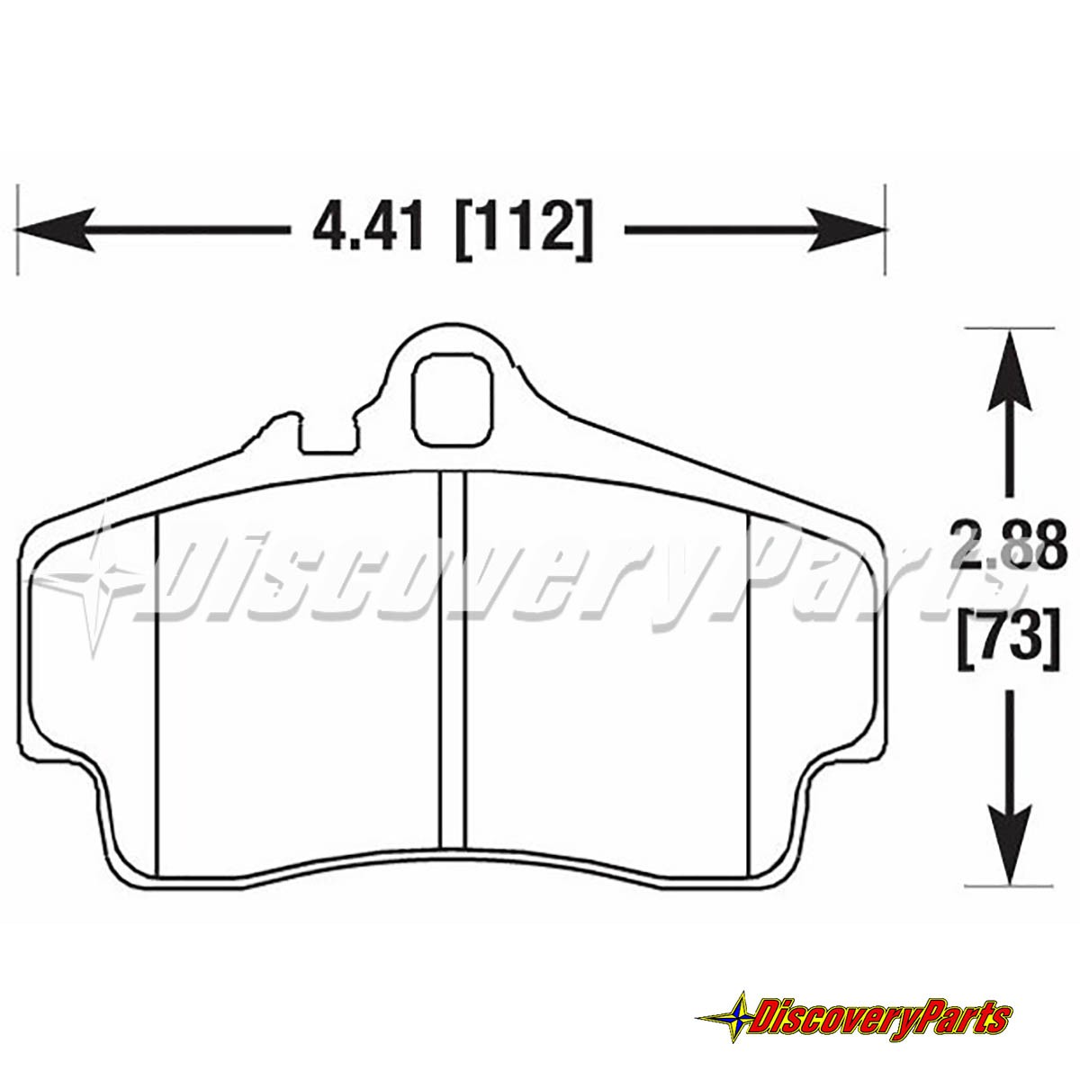 Ferodo Frp H Ds Brake Pad