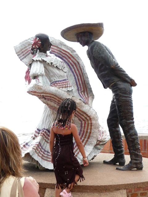 Puerto Sculptures Sand Vallarta