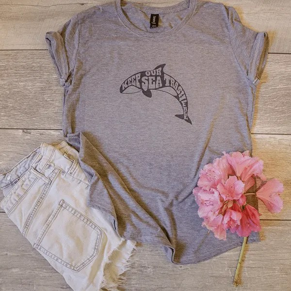 Coastal Cleanup - Protect our oceans. Ocean apparel