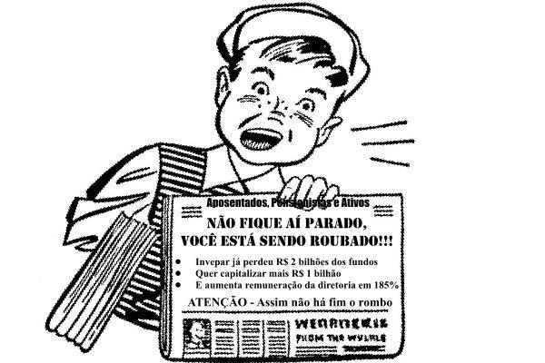 INVEPAR enquanto capitaliza R$ 1 bilhão dos fundos de pensão, aumenta remuneração da diretoria em 185%.  Farra com nosso dinheiro.