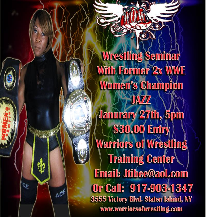 Seminar with Jazz | Warriors of Wrestling | DiscussPW