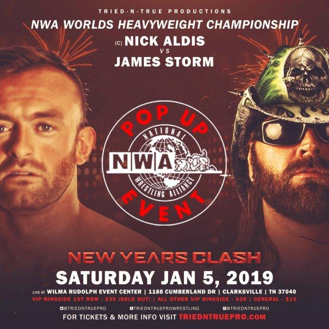 NWA Full Pop Up Event, Nick Aldis Q & A Posted
