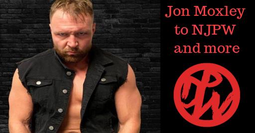 Jon Moxley NJPW