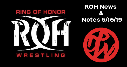 ROH News & Notes 5/16/19