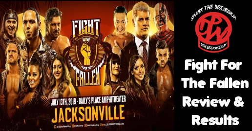 Fight for the Fallen Review and Results | AEW
