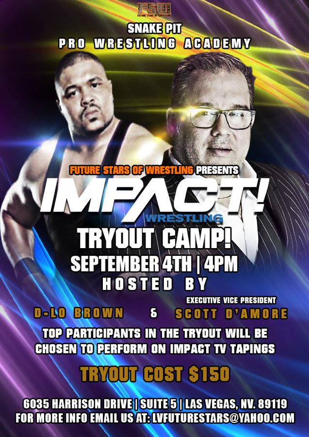 Impact Wrestling Tryout Camp