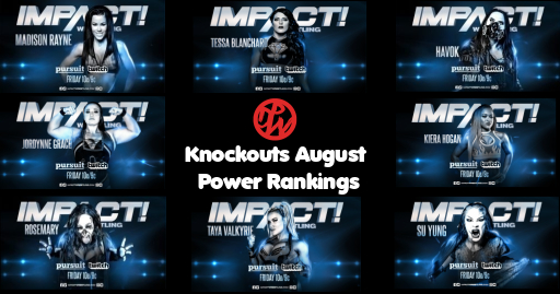Impact Knockouts Power Rankings | August 2019