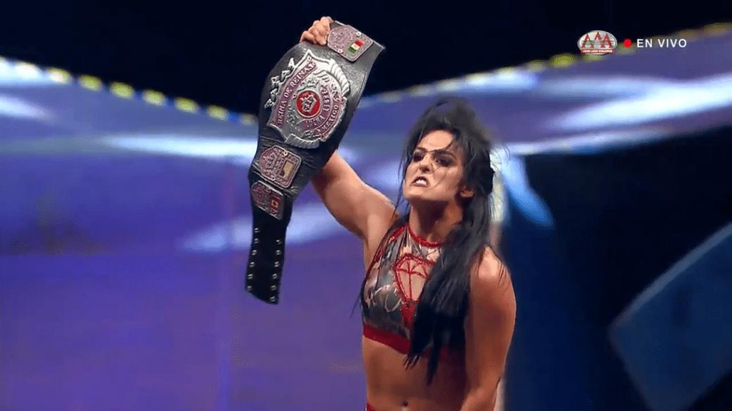 Tessa Blanchard AAA Championship