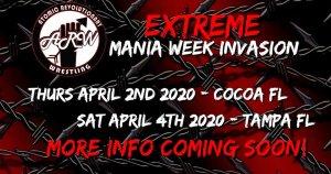 Extreme Mania Week Invasion