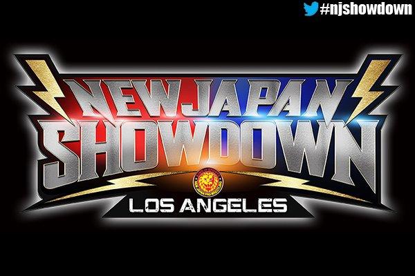 NJPW Showdown Los Angeles
