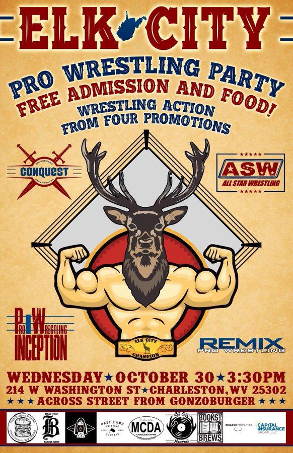 Elk City Pro Wrestling Party | Pro Wrestling Inception