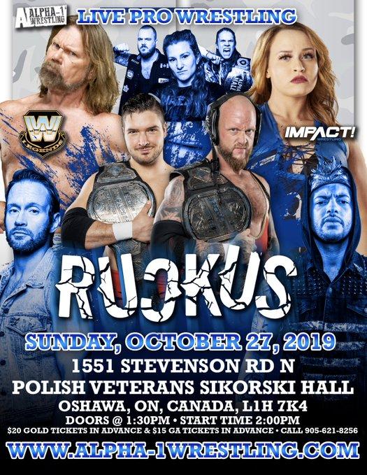 Alpha 1 Wrestling Ruckus