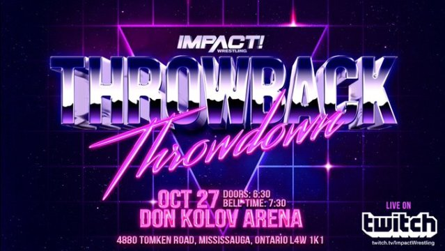 Impact Throwback Throwdown Spoilers | 10/27/19