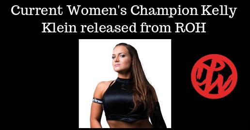 ROH Women's Champion Kelly Klein Released   News