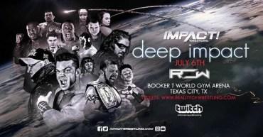 deep impact reality wrestling
