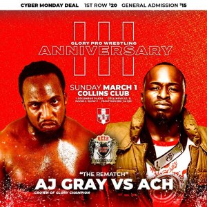 Glory Pro Wrestling Anniversary 2020