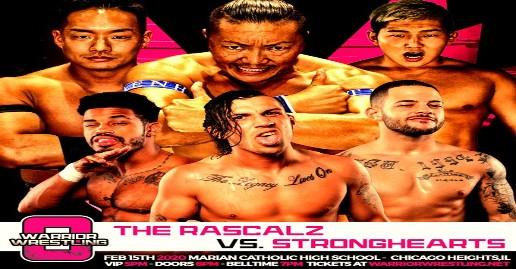 Tickets For Warrior Wrestling 8 On Sale | News